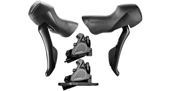 Shimano Road ST-RS405/BR-RS405 Scheibenbremsen-Set Schwarz